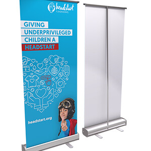 Economy Pull Up Banner 2000mm or 1600mm CA13210 Various 1