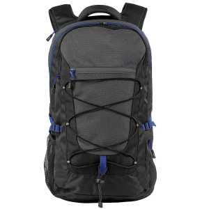 Elevate Milton 15.4 inch Laptop Outdoor Backpack EV1007BK Black Front
