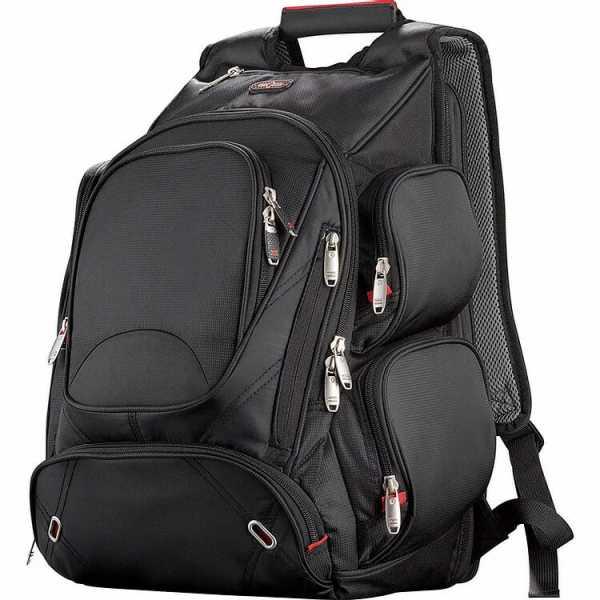 Elleven Checkpoint Friendly Compu Backpack EL003BK Black Front