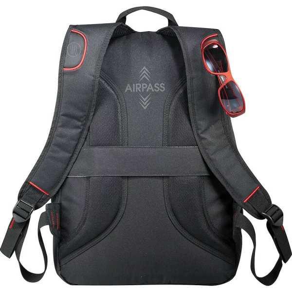 Elleven Motion Compu Backpack EL018BK Black Back