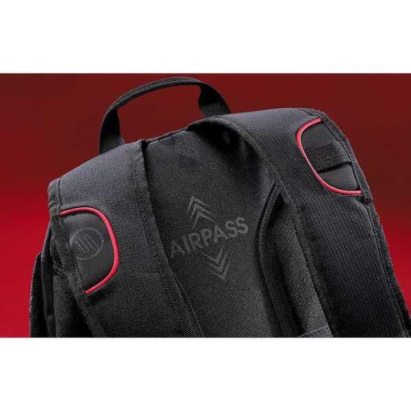 Elleven Motion Compu Backpack EL018BK Black Back Details