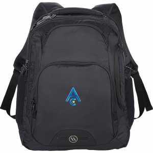 Elleven Rutter TSA 17 Inch Computer Backpack EL024BK Black