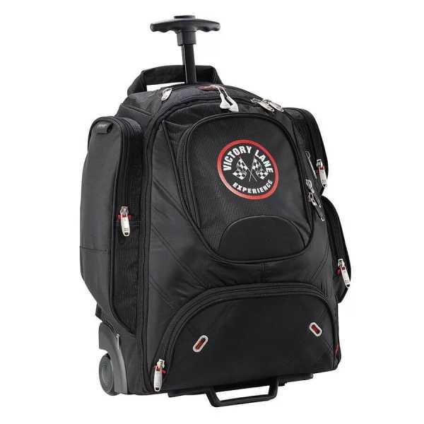 Elleven Wheeled Compu Backpack EL002BK Black Front