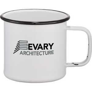 Enamel Metal Cup 4080WH White