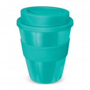 Express Cup Classic 350ml Logo Promotional Reusable Coffee Cup 112529 Teal