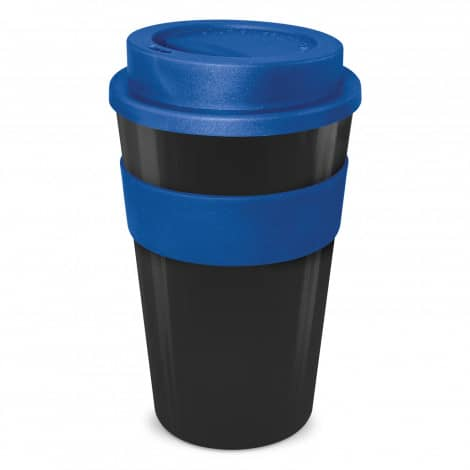 Express Cup Classic 480ml Logo Promotional Reusable Coffee Cup 112530 Black Dark Blue