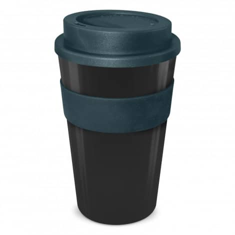 Express Cup Classic 480ml Logo Promotional Reusable Coffee Cup 112530 Black Navy