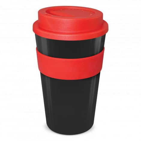 Express Cup Classic 480ml Logo Promotional Reusable Coffee Cup 112530 Black Red