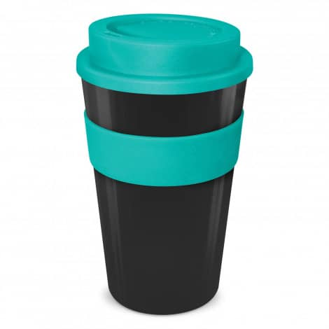 Express Cup Classic 480ml Logo Promotional Reusable Coffee Cup 112530 Black Teal