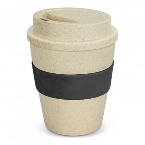 Express Cup Classic Natura 350ml Logo Promotional Reusable Coffee Cup 117303 Black