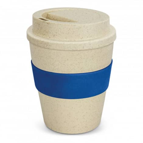 Express Cup Classic Natura 350ml Logo Promotional Reusable Coffee Cup 117303 Dark Blue
