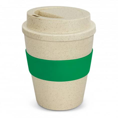 Express Cup Classic Natura 350ml Logo Promotional Reusable Coffee Cup 117303 Green