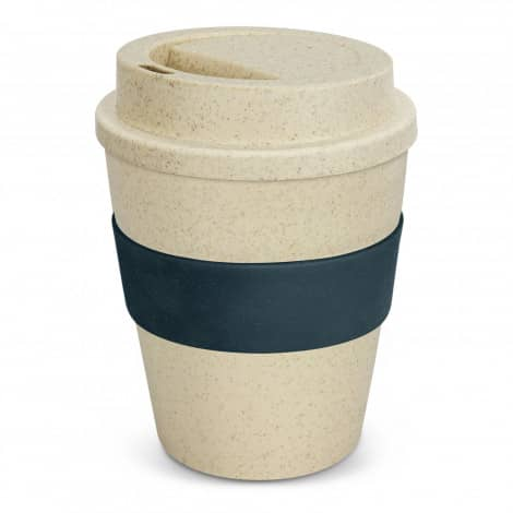 Express Cup Classic Natura 350ml Logo Promotional Reusable Coffee Cup 117303 Navy