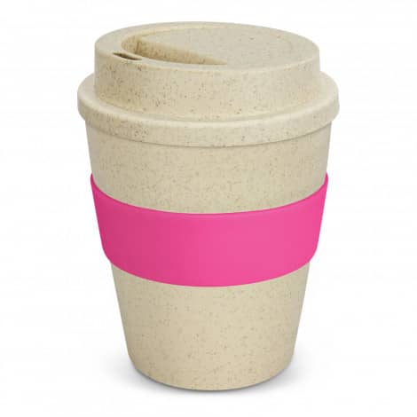 Express Cup Classic Natura 350ml Logo Promotional Reusable Coffee Cup 117303 Pink