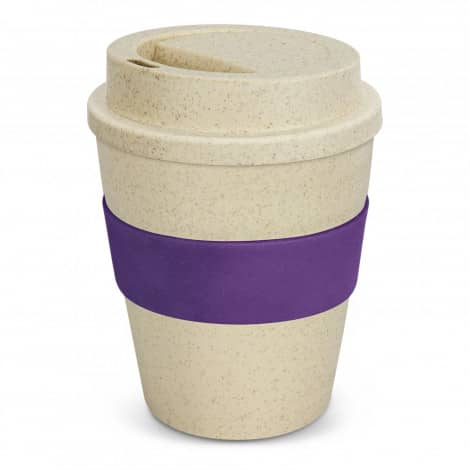 Express Cup Classic Natura 350ml Logo Promotional Reusable Coffee Cup 117303 Purple