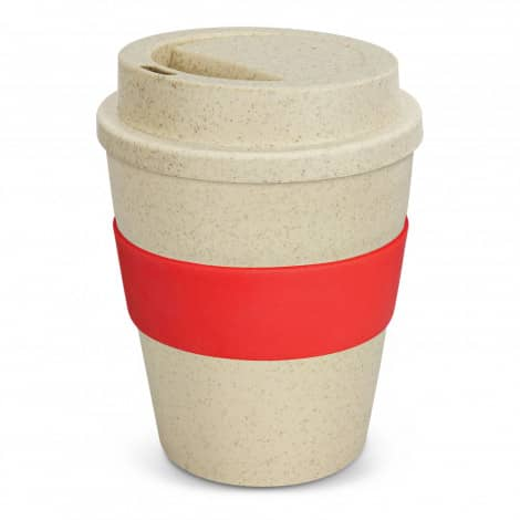 Express Cup Classic Natura 350ml Logo Promotional Reusable Coffee Cup 117303 Red