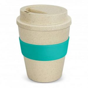 Express Cup Classic Natura 350ml Logo Promotional Reusable Coffee Cup 117303 Teal