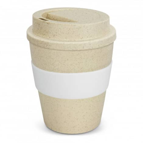 Express Cup Classic Natura 350ml Logo Promotional Reusable Coffee Cup 117303 White