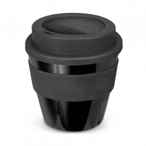 Express Cup Classic Reusable Coffee Cup Promotional Logo 115792 Black Black
