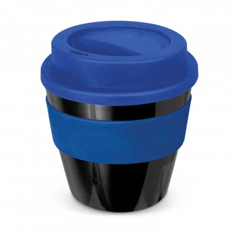 Express Cup Classic Reusable Coffee Cup Promotional Logo 115792 Black Dark Blue