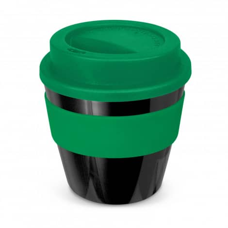 Express Cup Classic Reusable Coffee Cup Promotional Logo 115792 Black Green