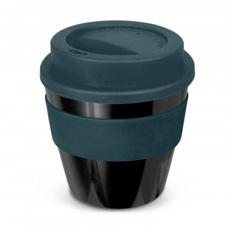 Express Cup Classic Reusable Coffee Cup Promotional Logo 115792 Black Navy