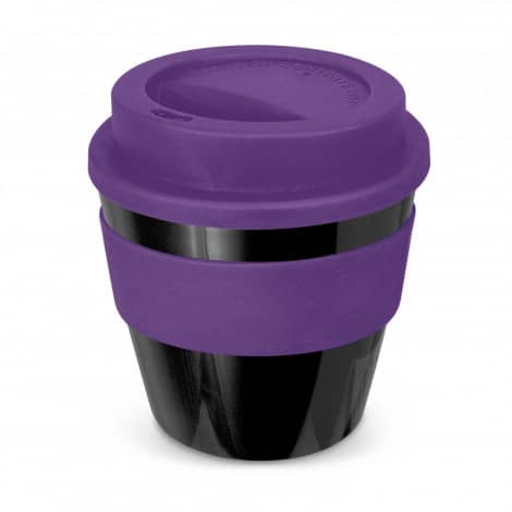 Express Cup Classic Reusable Coffee Cup Promotional Logo 115792 Black Purple