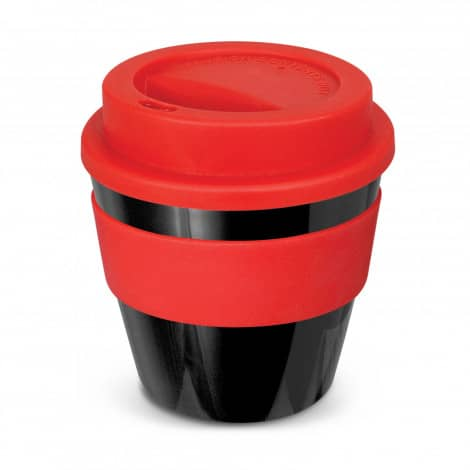Express Cup Classic Reusable Coffee Cup Promotional Logo 115792 Black Red