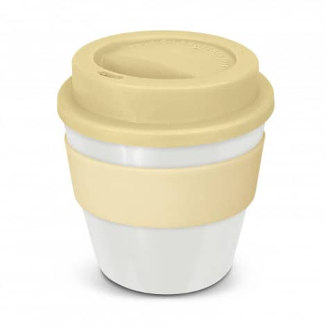 Express Cup Classic Reusable Coffee Cup Promotional Logo 115792 White.jpg Cream