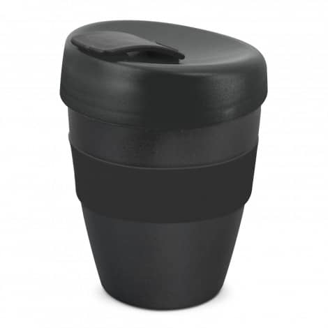 Express Cup Deluxe 350ml Logo Promotional Reusable Coffee Cup 108821 Black