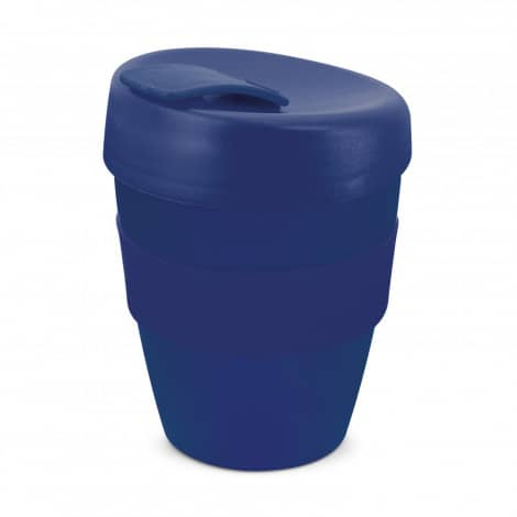 Express Cup Deluxe 350ml Logo Promotional Reusable Coffee Cup 108821 Dark Blue