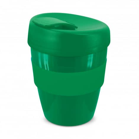 Express Cup Deluxe 350ml Logo Promotional Reusable Coffee Cup 108821 Green