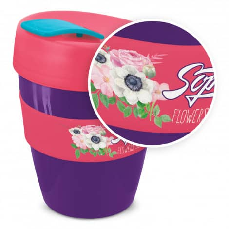 Express Cup Deluxe 350ml Logo Promotional Reusable Coffee Cup 108821 Mixed with Branding