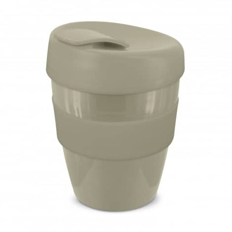 Express Cup Deluxe 350ml Logo Promotional Reusable Coffee Cup 108821 Natural