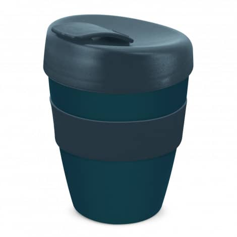 Express Cup Deluxe 350ml Logo Promotional Reusable Coffee Cup 108821 Navy