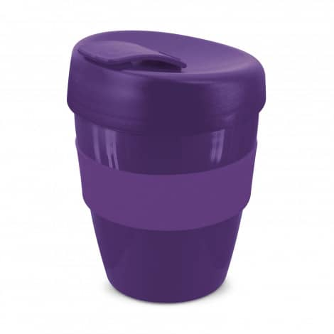 Express Cup Deluxe 350ml Logo Promotional Reusable Coffee Cup 108821 Purple
