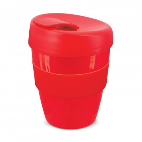 Express Cup Deluxe 350ml Logo Promotional Reusable Coffee Cup 108821 Red