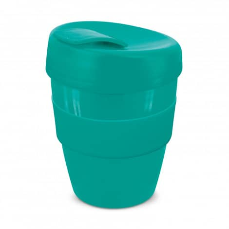 Express Cup Deluxe 350ml Logo Promotional Reusable Coffee Cup 108821 Teal