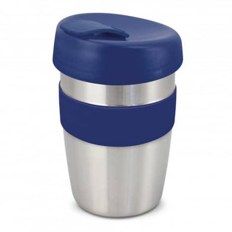 Express Cup Elite Silicone Logo Promotional Reusable Dark Blue 115395