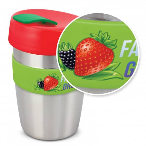 Express Cup Elite Silicone Logo Promotional Reusable Mixed with branding115395