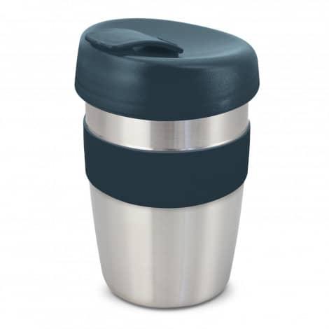 Express Cup Elite Silicone Logo Promotional Reusable Navy 115395