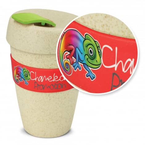 Express Cup Natura Double Wall Logo Promotional Reusable Coffee Cup 116348 With Branding