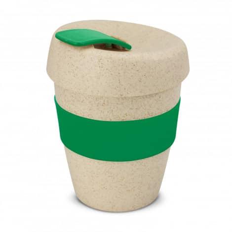 Express Cup Natura Logo Promotional Reusable Coffee Cup 115581 Green