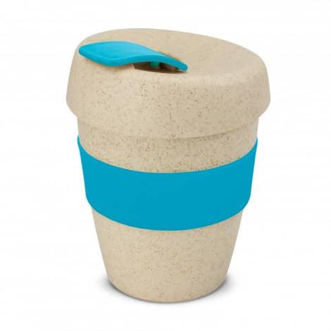 Express Cup Natura Logo Promotional Reusable Coffee Cup 115581 Light Blue