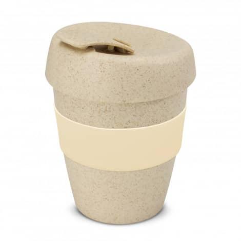 Express Cup Natura Logo Promotional Reusable Coffee Cup 115581 Natural