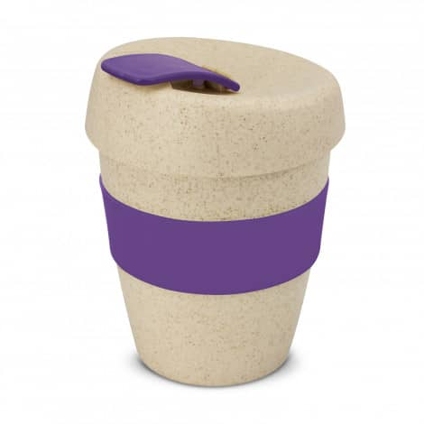 Express Cup Natura Logo Promotional Reusable Coffee Cup 115581 Purple