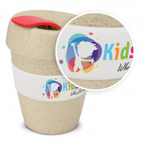 Express Cup Natura Logo Promotional Reusable Coffee Cup 115581 with branding
