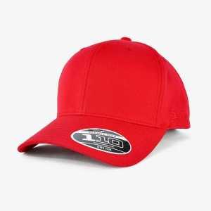 FLEXFIT 110 Cotton Twill Snapback Cap 110C Red Front