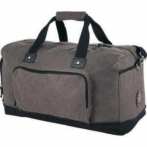 Field Co Hudson 21 inch Weekender Duffel Bag FC1003GY Brown