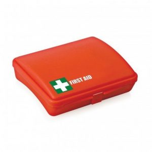 First Aid Kit Pocket Sized 30 Piece FA106 Red